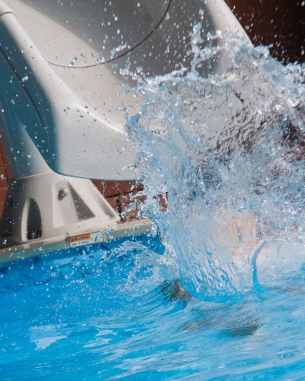 Teen Arrested After Throwing Woman In Pool (Video) Promo Image