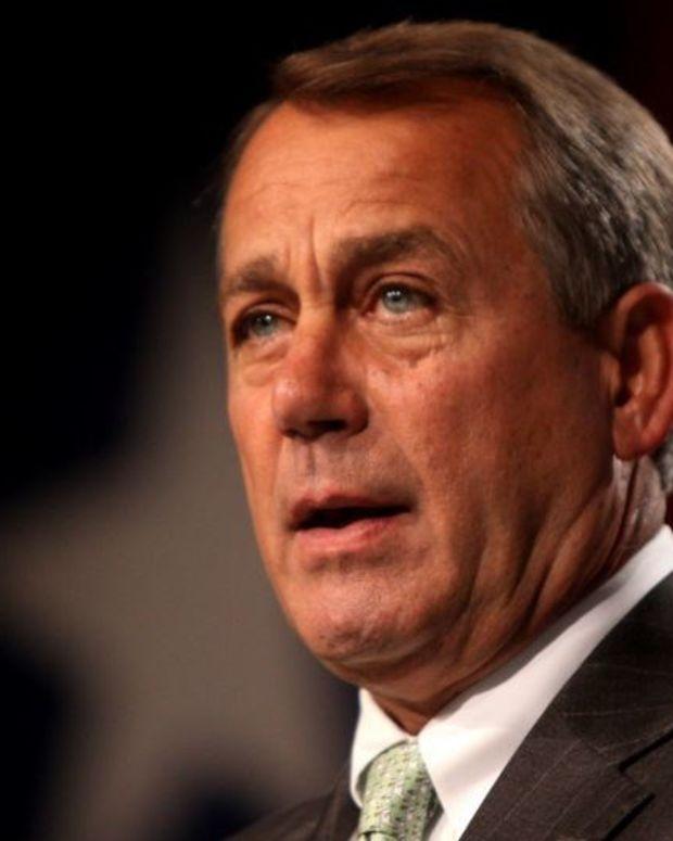 Boehner: GOP Won't Repeal Obamacare Promo Image