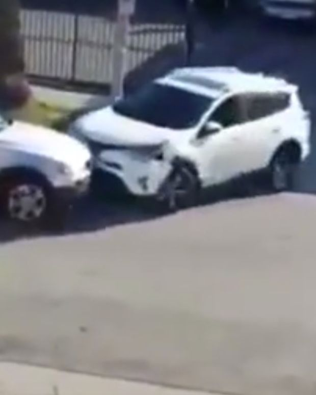 Wild Road Rage Between Women Over Parking Space (Video) Promo Image