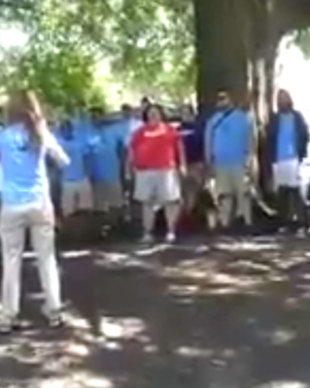 Gay Men's Choruses Drown Out Anti-Gay Preaching (Video) Promo Image
