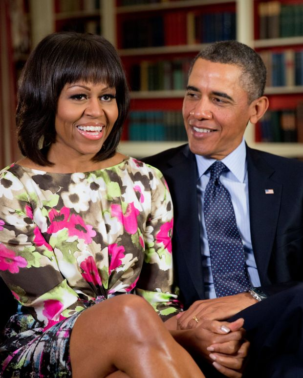 Barack And Michelle Obama Sign Book Deal With Penguin Promo Image