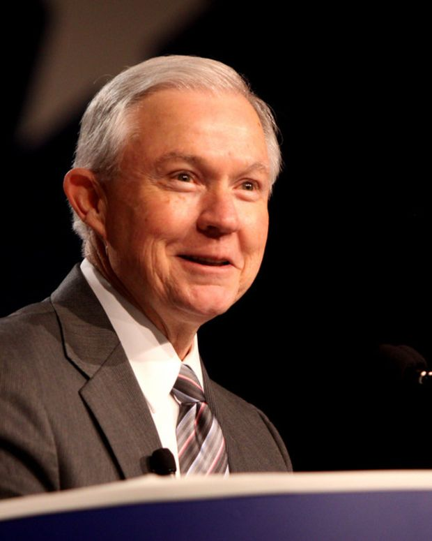 Report: Sessions Had Third Undisclosed Russia Meeting Promo Image