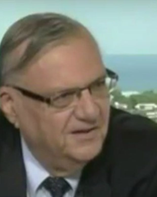 Sheriff Joe Arpaio Is Called A 'Racist' On TV (Video) Promo Image