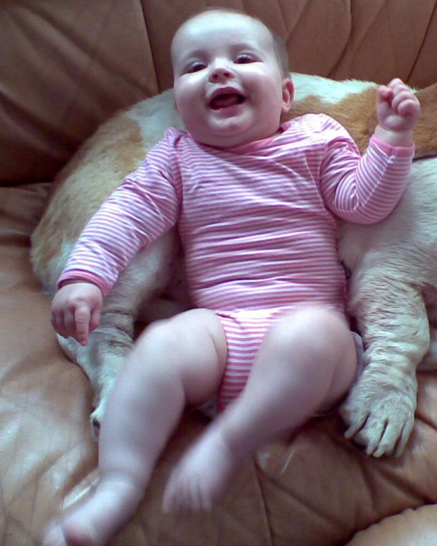 Mom Catches Adorable Conversation Between Dog And Baby (Video) Promo Image