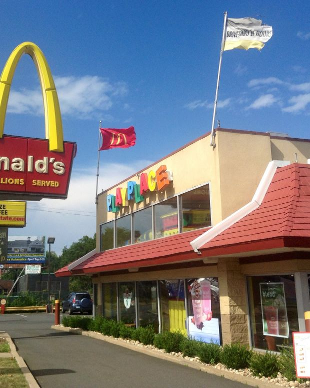 McDonald's Weed Billboard Sparks Controversy (Photo) Promo Image