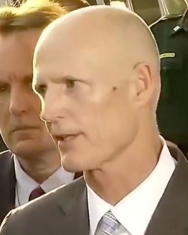 Florida Gov. Contacted Trump, Not Obama, After Shooting (Video) Promo Image