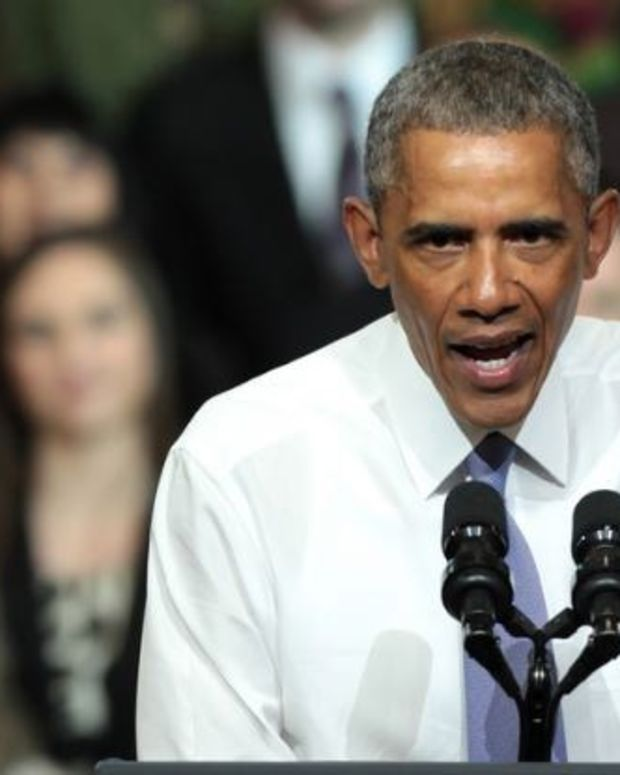 Obama Issues Last Minute Defense Of Obamacare Promo Image