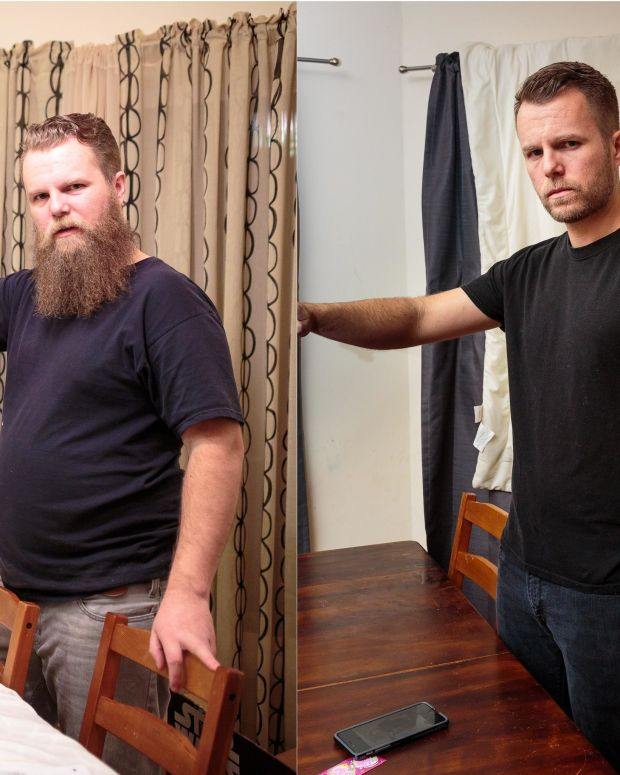 Former Alcoholic Is Unrecognizable After He Quit Booze Promo Image