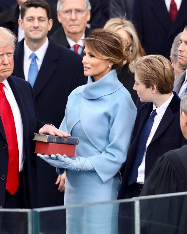 Official Inauguration Photo Has A Typo (Photo) Promo Image