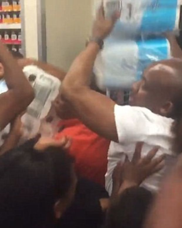 Black Friday Fights Over Toilet Paper in South Africa (Video) Promo Image