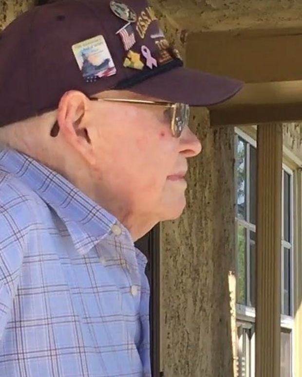 Disabled WWII Vet Gets Touching Surprise (Video) Promo Image