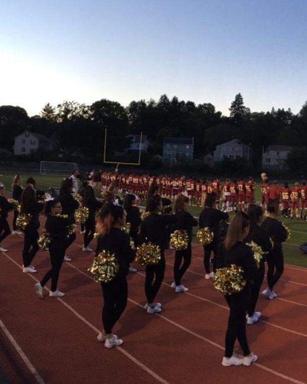 High Schoolers Protest National Anthem Promo Image