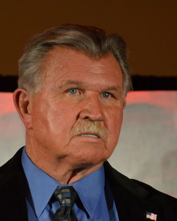 Mike Ditka Tells Kaepernick To 'Get The Hell Out'  Promo Image