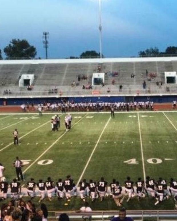Police Boycott After High School Team Protests Anthem Promo Image