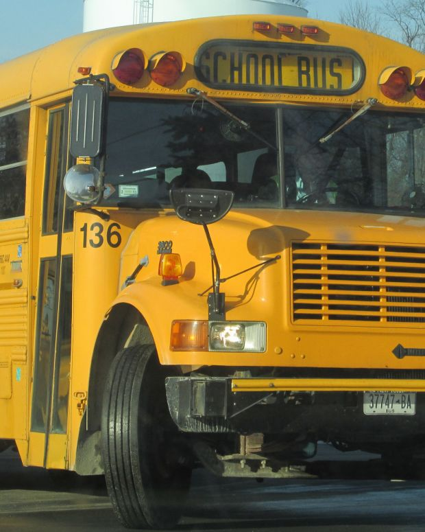 Hit-And-Run Driver Causes School Bus To Roll Over Promo Image