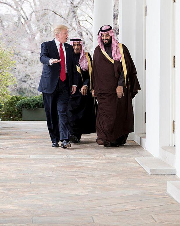 US Nears $100 Billion Arms Deal With Saudi Arabia Promo Image