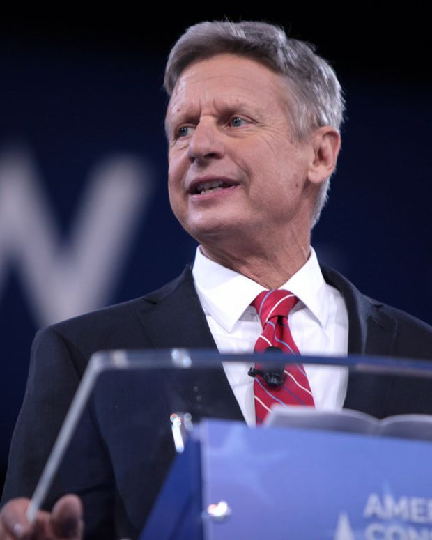Poll: Majority of Americans Want Gary Johnson In Debates Promo Image