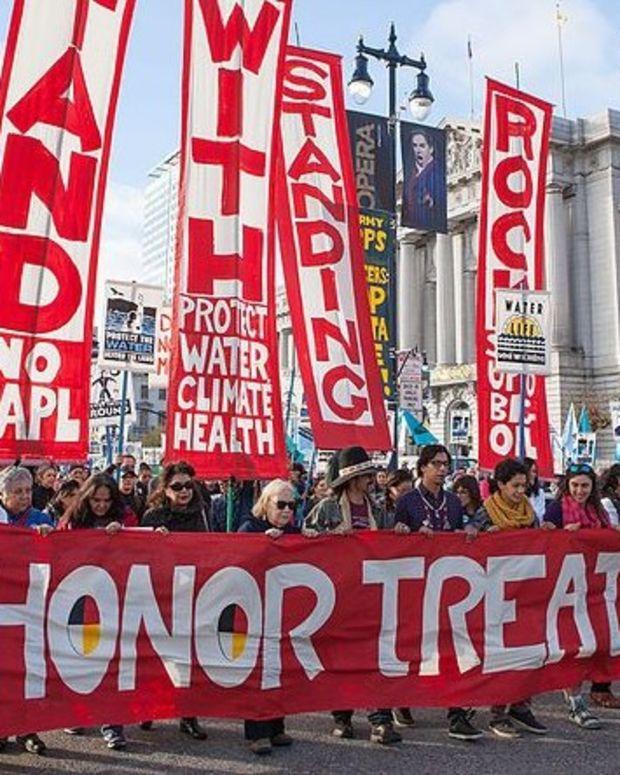 FBI Terrorism Task Force Probes Standing Rock Activists Promo Image