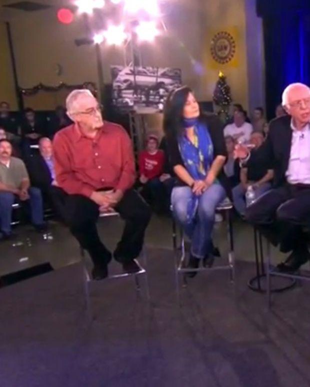Sen. Bernie Sanders Educates Trump Voters On Trump (Video) Promo Image