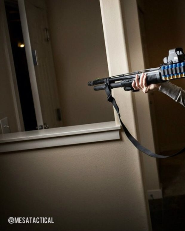 Armed Mom Surprises Burglar, Sends Him Running (Video) Promo Image