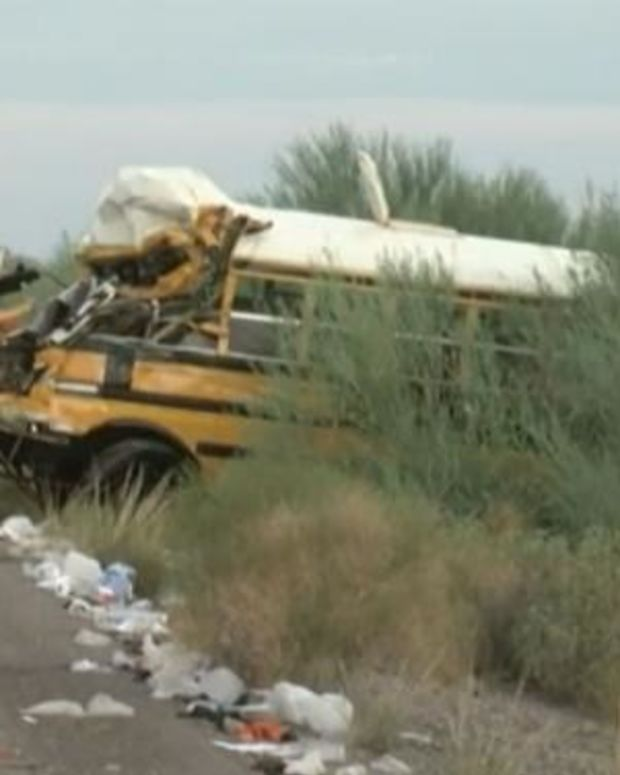 Inmates At Scene Of Prison Bus Crash Have Unexpected Reaction Promo Image