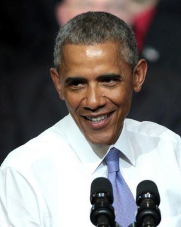 Obama: Give Trump A Chance Promo Image