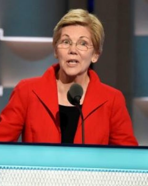 Sen. Elizabeth Warren To Trump: 'I Will Oppose You' Promo Image