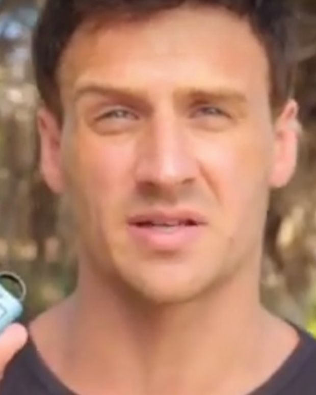 Ryan Lochte Does Ad For Crime Prevention Device (Video) Promo Image