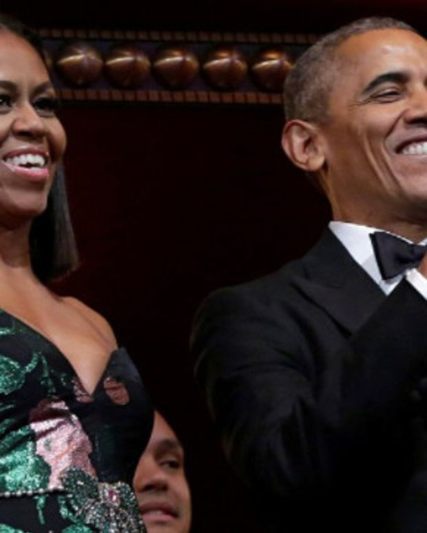 Michelle Obama Mocked For Kennedy Center Honors Dress (Photos) Promo Image