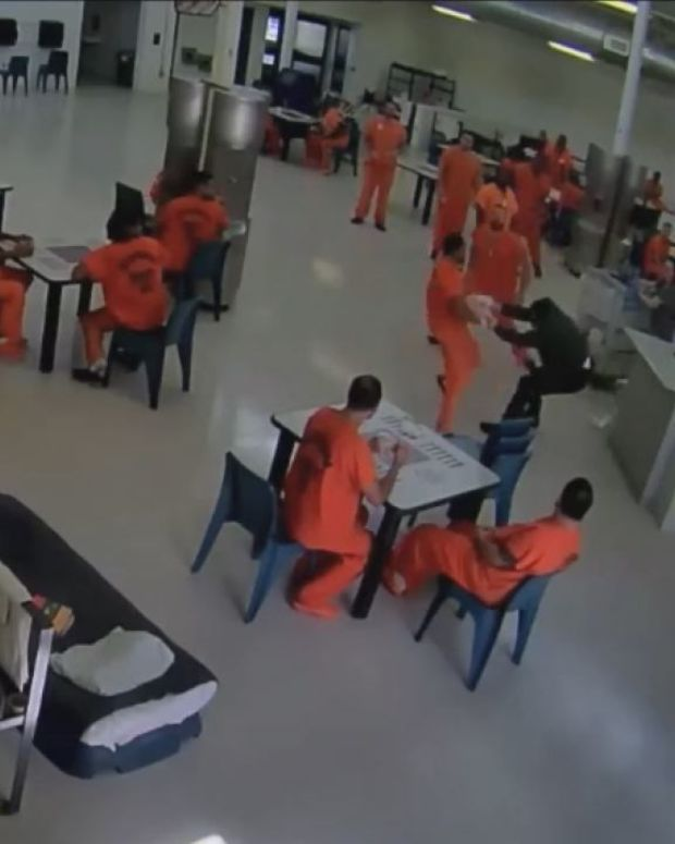 Prison Inmates Save Deputy From Attacker (Video) Promo Image