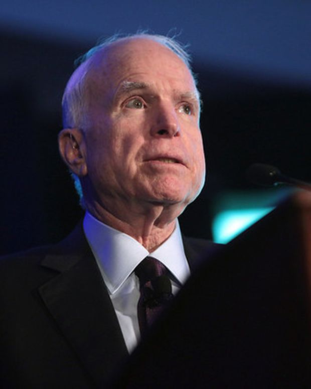 McCain: No Comparison Between Trump And Reagan Promo Image