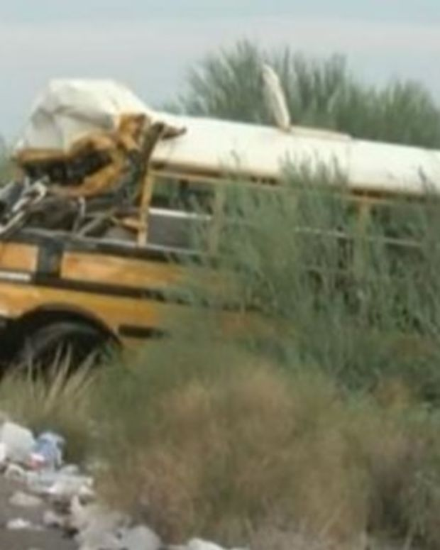 Prisoners At The Scene Of Bus Crash Have Different Reactions Than Expected Promo Image