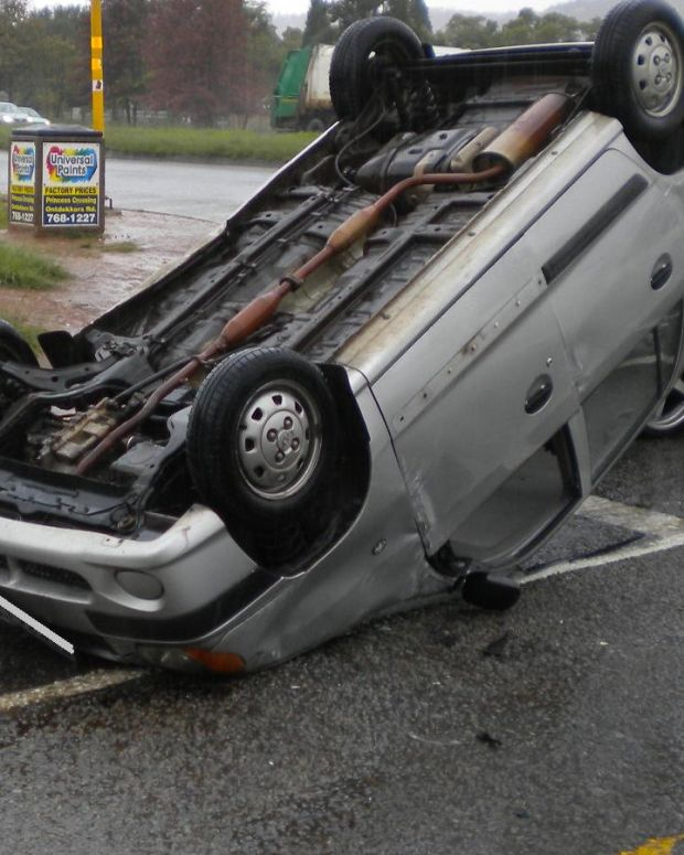 Mom Talks To Daughter On Phone During Rollover Crash (Photo) Promo Image