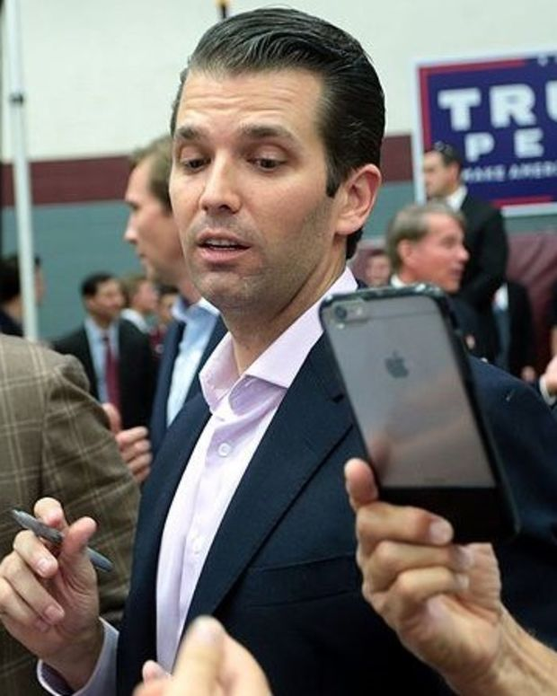 Trump Jr. Defends Dad's Criticism Of London Mayor Promo Image