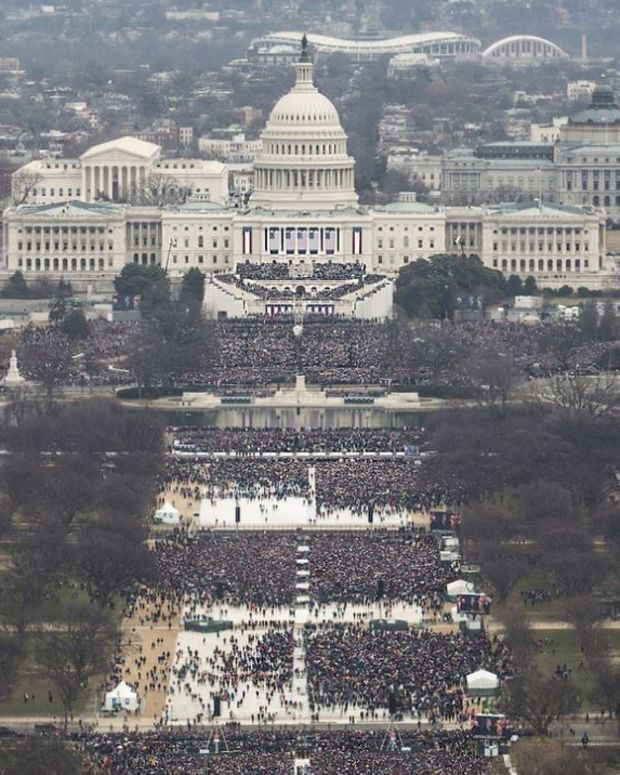 NPS Releases Official Inauguration Aerial Photos Promo Image