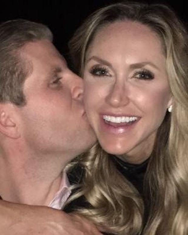 Eric Trump's Wife Is Pregnant Promo Image