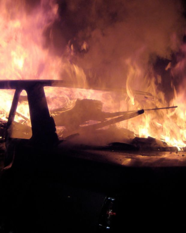 Mom Arrested For Trying To Set Son In Car On Fire Promo Image