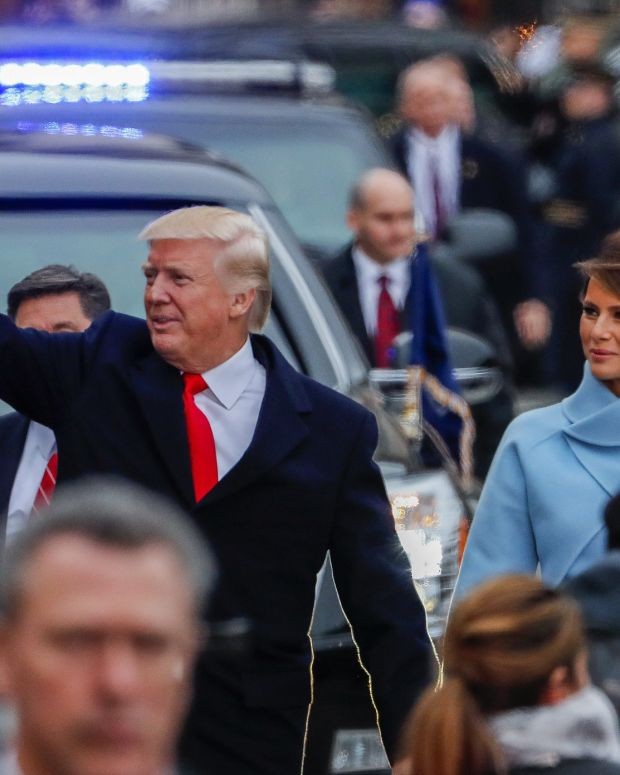 Barron Trump Is Nearly As Tall As His Father (Photos) Promo Image
