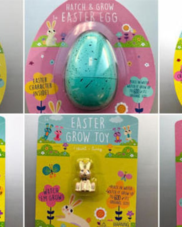 Target Recalls Potentially Dangerous Easter Toys (Photos) Promo Image