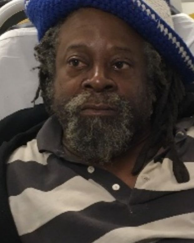 NYPD Take Belongings Of One-Legged Homeless Man (Video) Promo Image