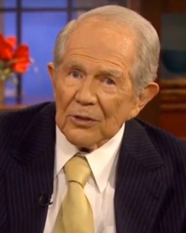 Pat Robertson: Family Feud Caused By Menstrual Cycle (Video) Promo Image