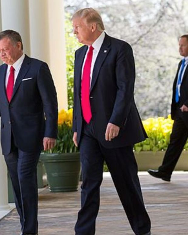 Trump Refuses To Release White House Visitor Logs Promo Image
