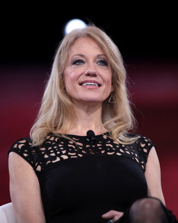 Photos Of Kellyanne Conway At White House Spark Outrage (Photos) Promo Image