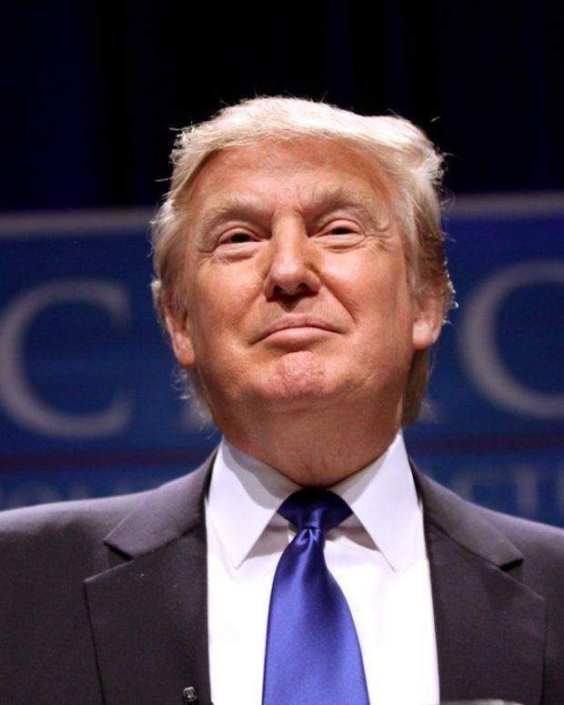 Trump Honors Black History Month By Praising Self (Video) Promo Image