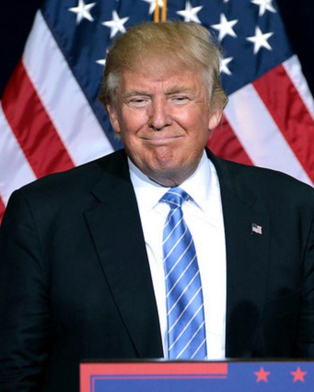 Trump Pledges To Sign Law Legalizing LGBT Discrimination Promo Image
