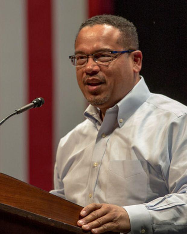 Keith Ellison: Ban Lobbyist Donations To DNC Promo Image