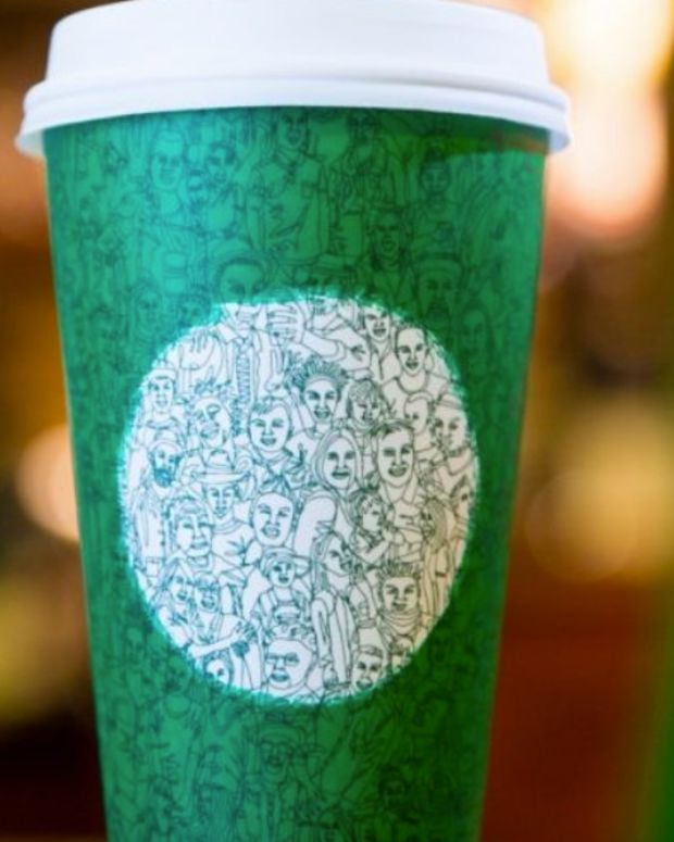 New Starbucks Cup Accused Of Spreading 'Liberal Bias' Promo Image