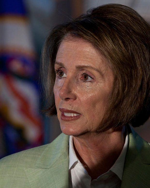 Donald Trump On Nancy Pelosi: 'She's Incompetent' Promo Image