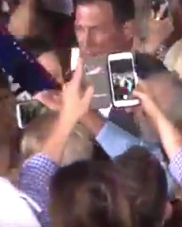 Trump Calls Black Supporter A 'Thug' At Rally (Video) Promo Image