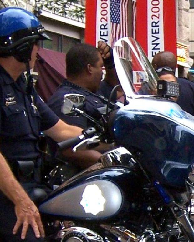 Officer Uses Taser On Surrendering Homeless Man (Video) Promo Image